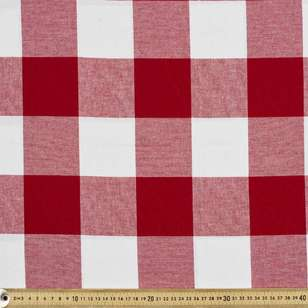 Large Check Tablecloth Fabric