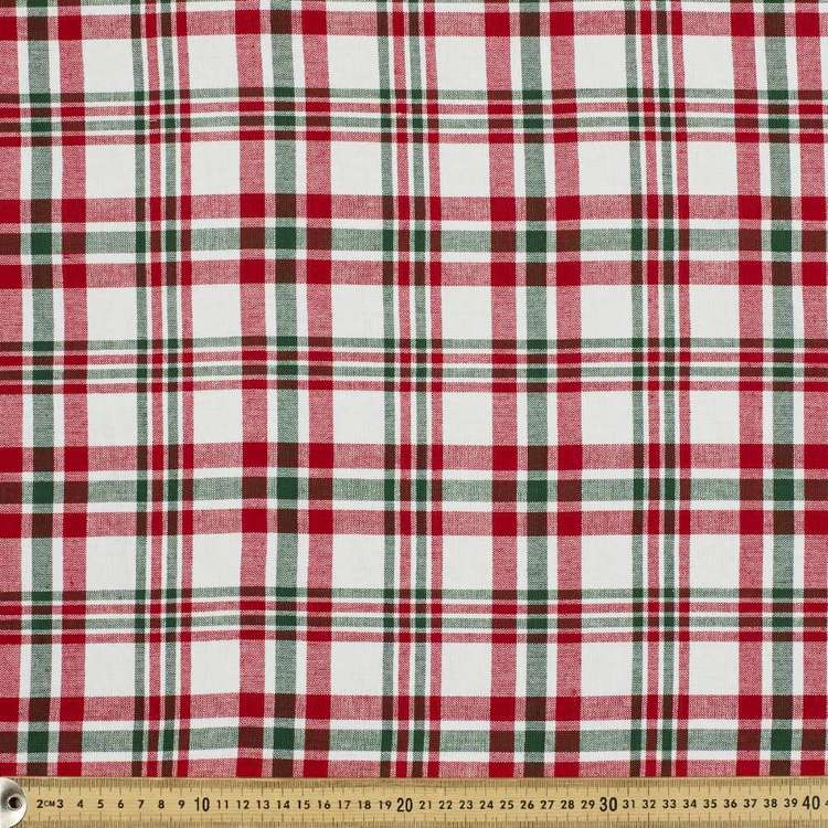Mid Check Tablecloth Fabric