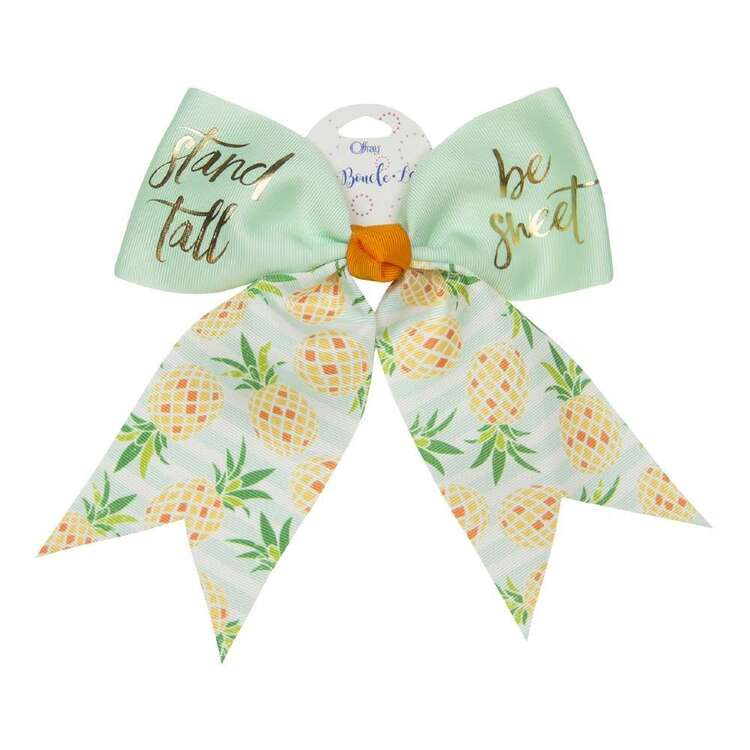 Stand Tall Be Sweet Cheer Hair Bow