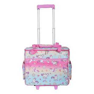 Semco Unicorn Printed Trolley Bag