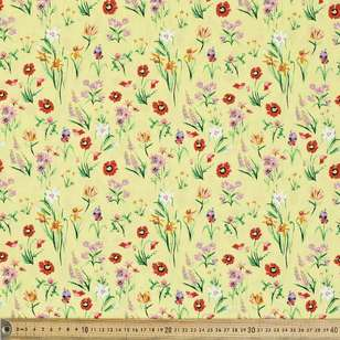 Happy Fields Printed Cotton Poplin Fabric