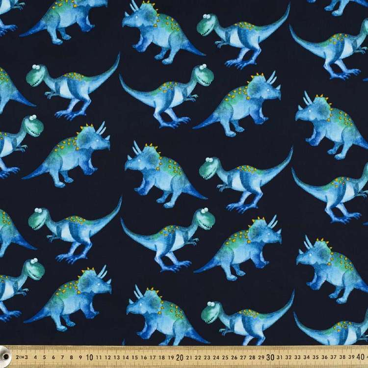 Steggy & T Printed Cotton Poplin Fabric