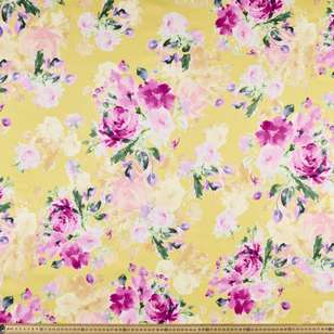 Sunny Days Printed Cotton Sateen Fabric
