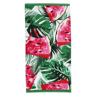 Logan & Mason Watermelon Beach Towel