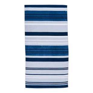 Logan & Mason Hugo Stone Beach Towel