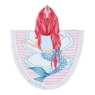Logan & Mason Melody Hooded Beach Towel
