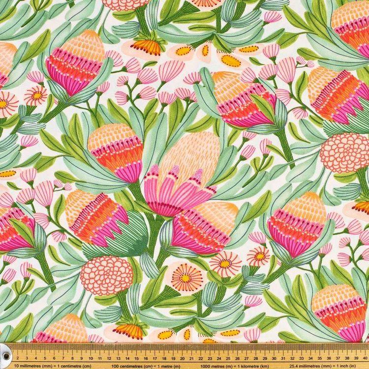 Kirsten Katz Gum Blossoms Curtain Fabric