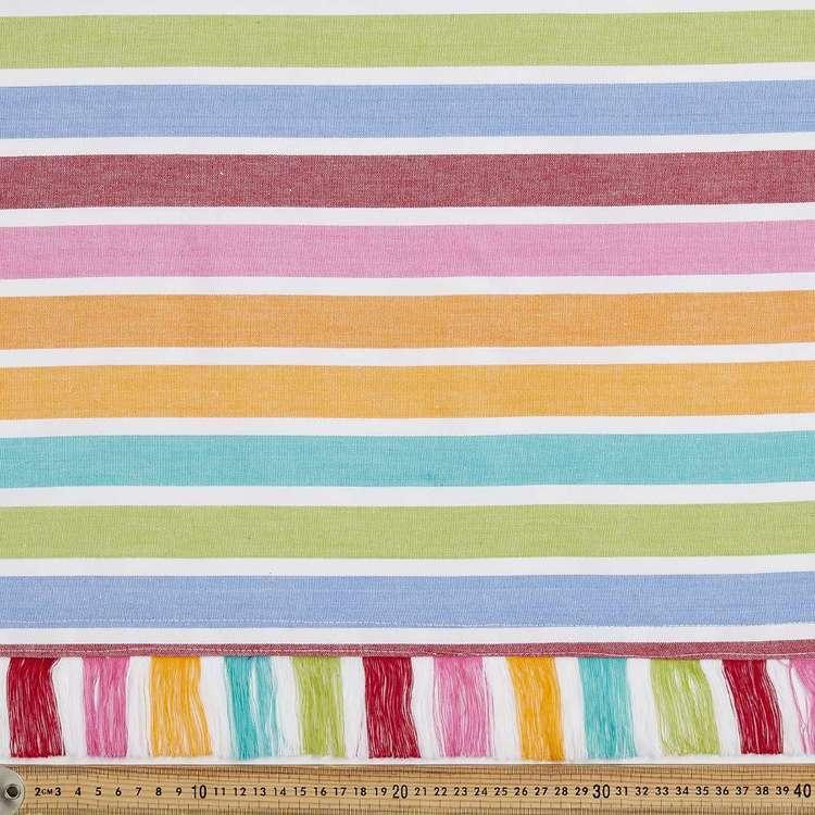 Multi Stripe Picnic Cotton Fabric