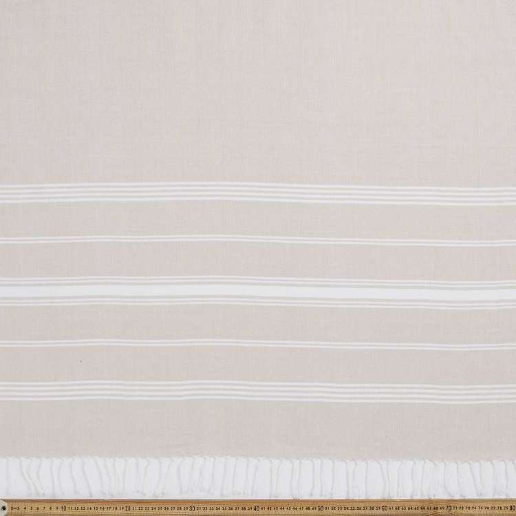 Large Stripe Picnic Cotton Fabric