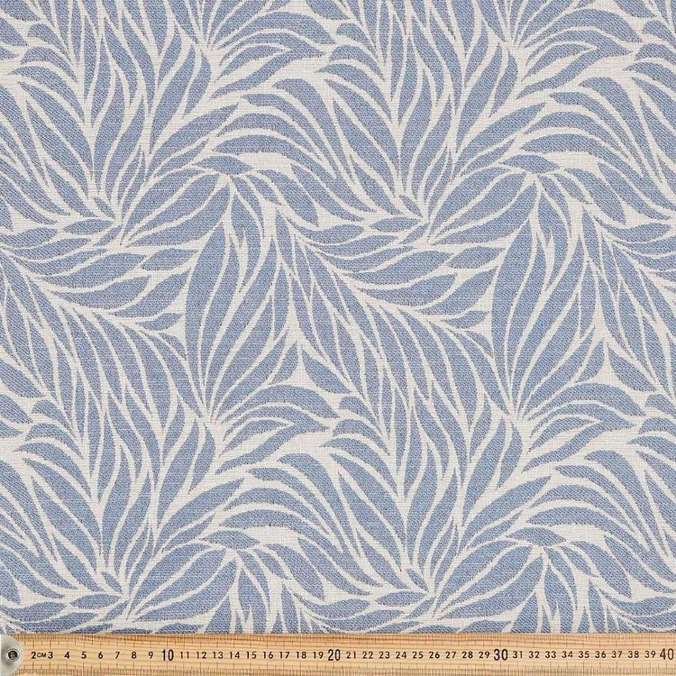 Subtle Leaf Jacquard Fabric