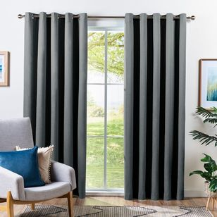 Home Label Collection Cian Blockout Eyelet Curtains