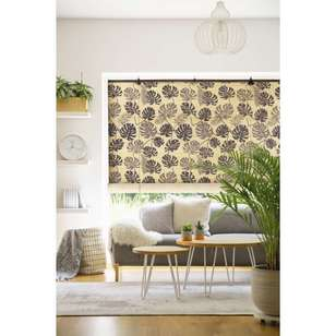 Caprice Palm Print Roll Up Blind