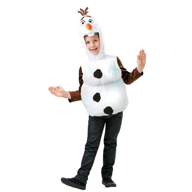 Disney Frozen 2 Olaf Kids Costume Top Multicoloured