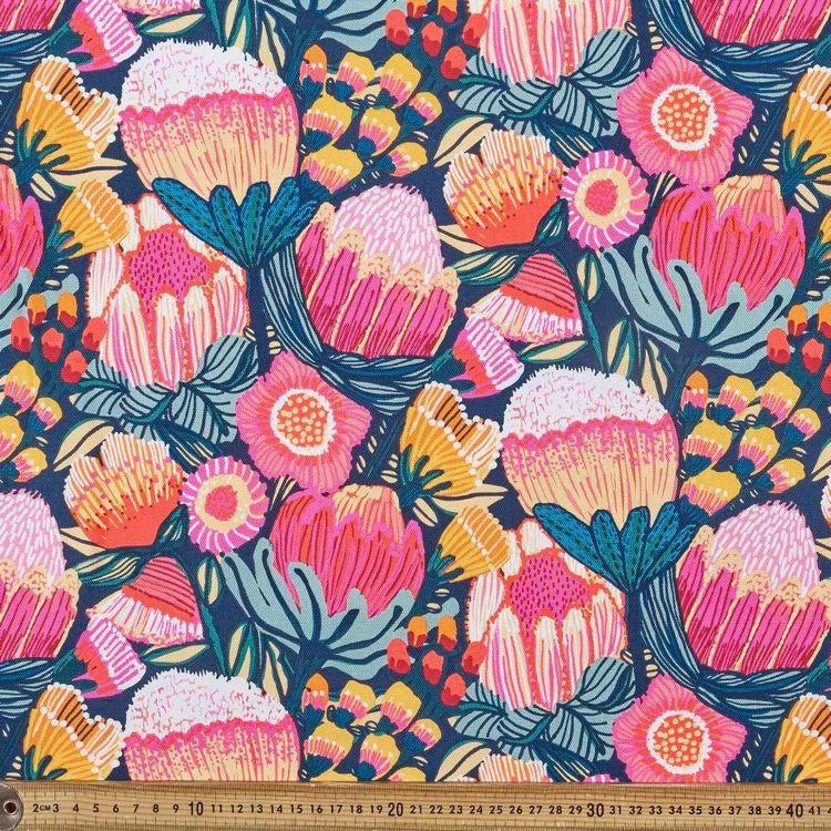 Kirsten Katz Oz Flowers Curtain Fabric