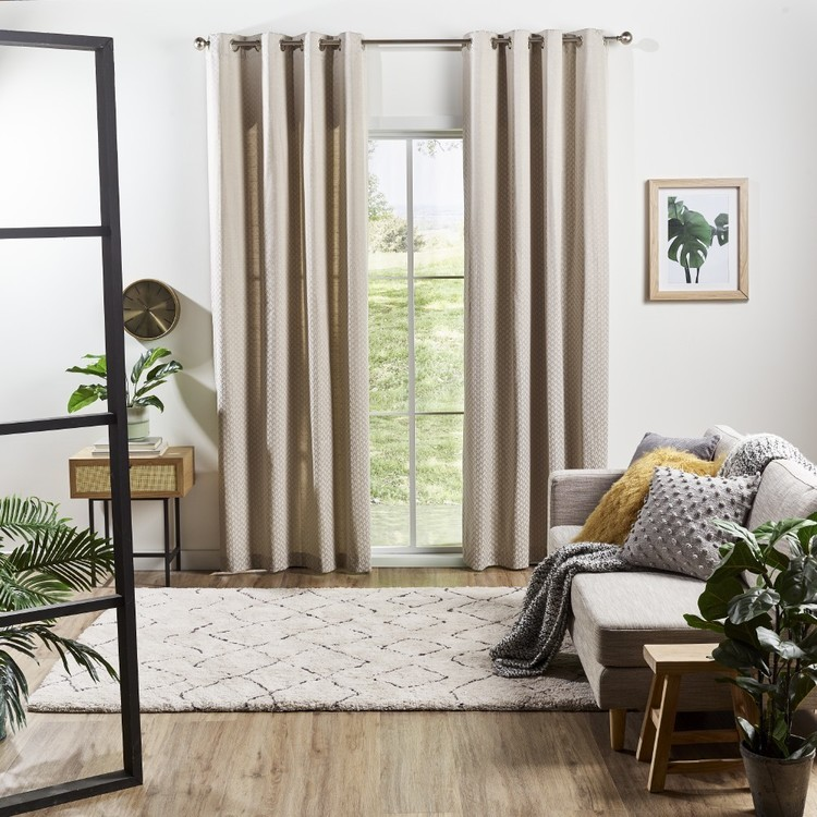 Love From Europe Collection Rome Eyelet Curtains