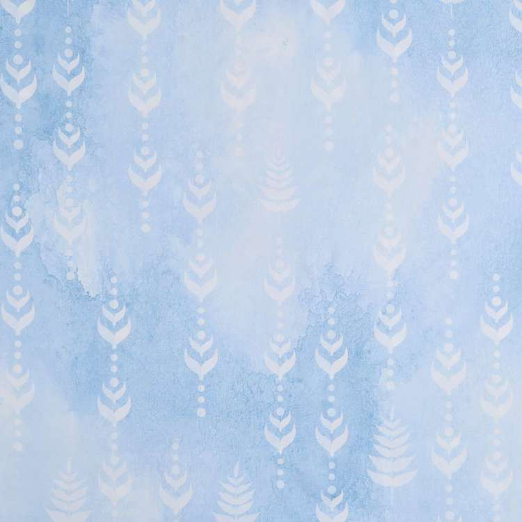 Frozen Ditzy Kids Decorator Fabric Blue 150 cm