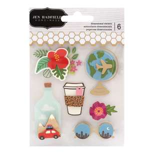 American Crafts Jen Hadfield Layered Stickers