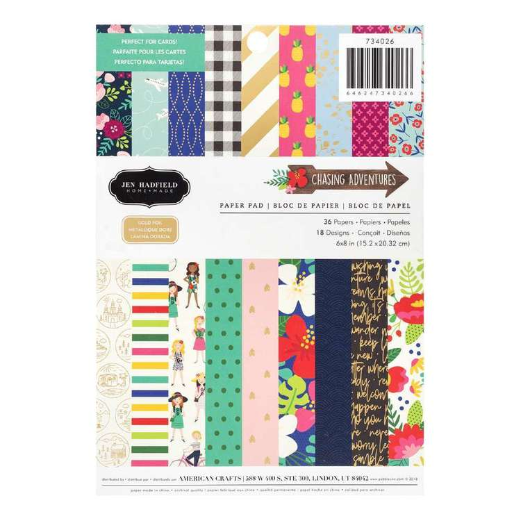 American Crafts Jen Hadfield 6 x8 in Paper Pad