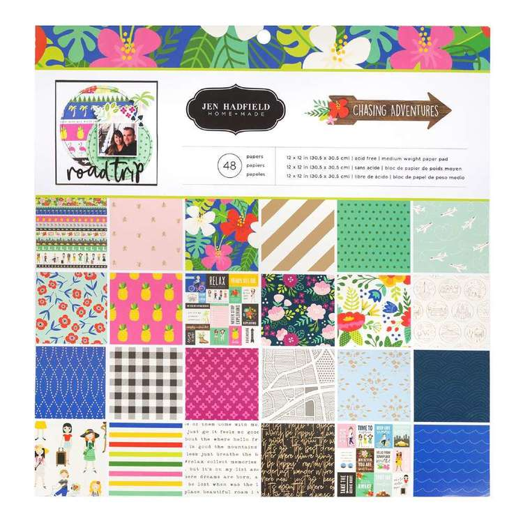 American Crafts Jen Hadfield 12 x 12 in Paper Pad