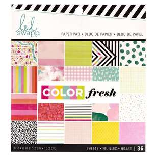American Crafts Heidi Swapp Colourfresh 6 x 6 in Paper Pad