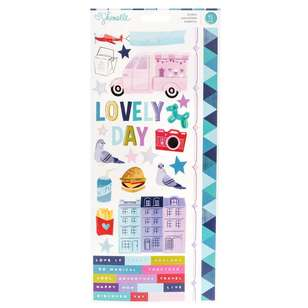 American Crafts Shimelle Sparkle City Stickers