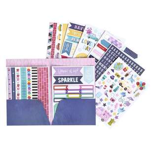 American Crafts Shemille Sparkle city Sticker Folder