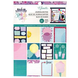 American Crafts Shimelle Sparkle City 6 x 8 in Paper Pad