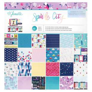 American Crafts Shimelle Sparkle City 12 x 12 in Paper Pad