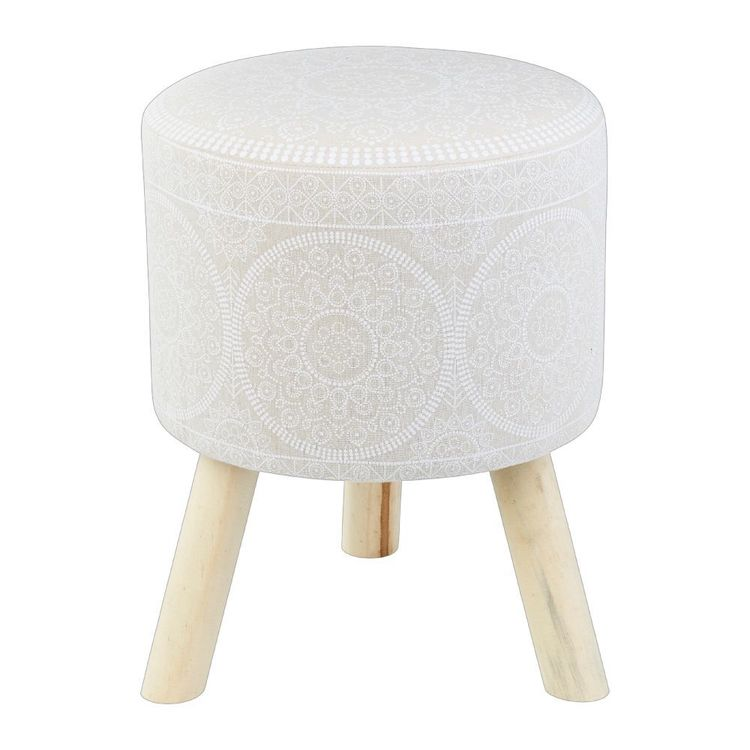 Ombre Home Bohemian Bliss Printed Stool