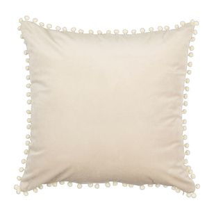 Ombre Home Weathered Coastal Pom Pom Cushion