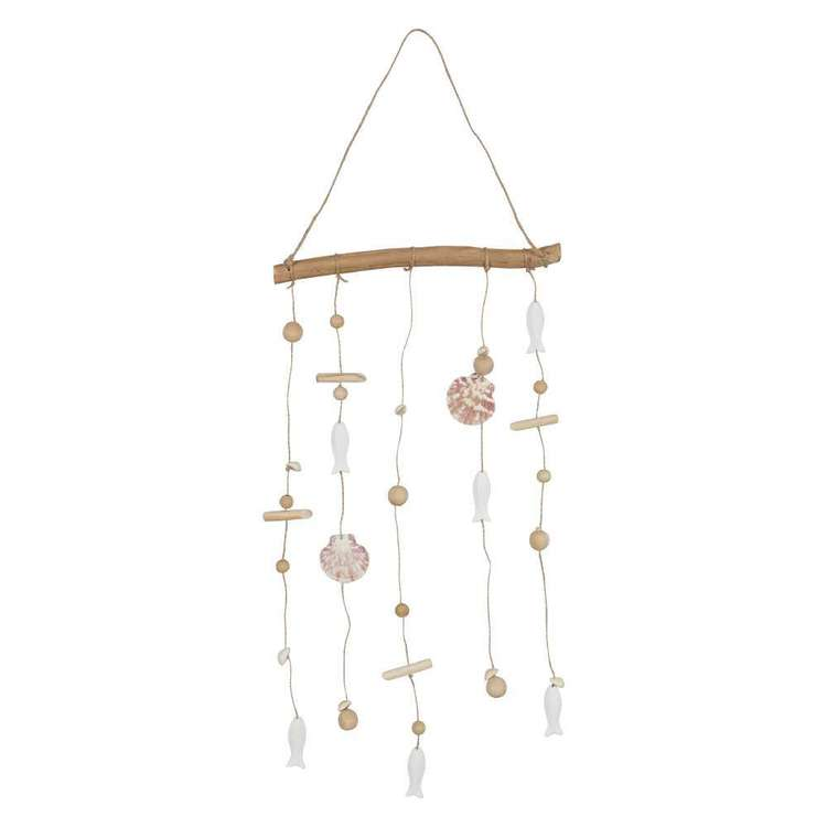 Ombre Home Weathered Coastal Shell Wall Hanging