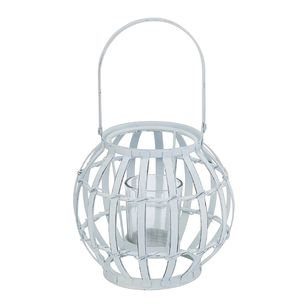 Ombre Home Weathered Coastal Metal Lantern
