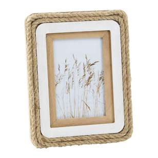Ombre Home Weathered Coastal Rope Frame