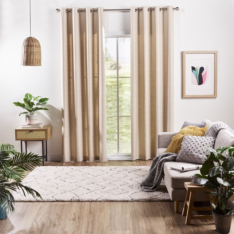 Love From Europe Collection Berlin Eyelet Curtains