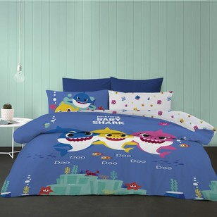 Baby Shark Quilt Cover Set