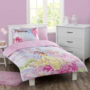 Disney Princess Quilt Cover Set