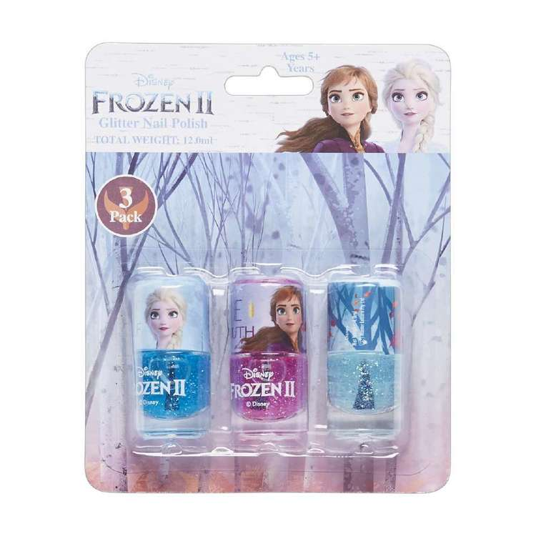 Disney Frozen 2 Glitter Nail Polish Set