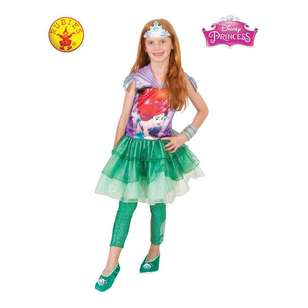 Disney Ariel Hooded Dress Kids Costume