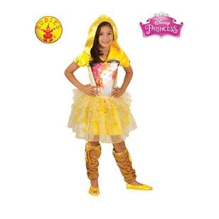 Disney Belle Hooded Dress Kids Costume