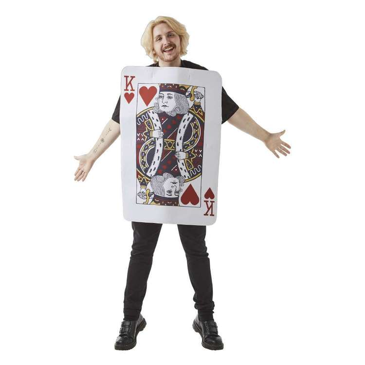 Spartys Poker King Costume