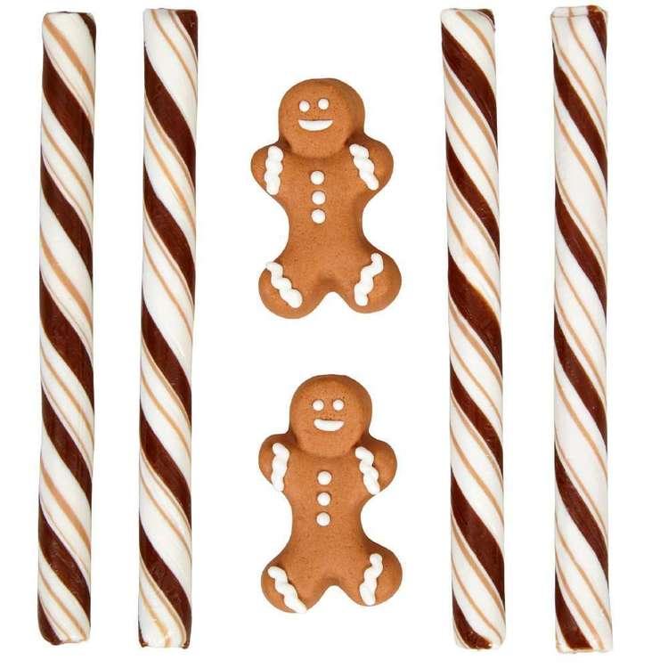 Wilton Gingerbread Boy Cocoa Trim Kit