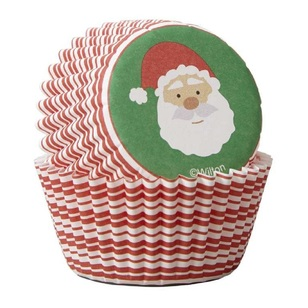 Wilton Santa Claus Mini Baking Cups