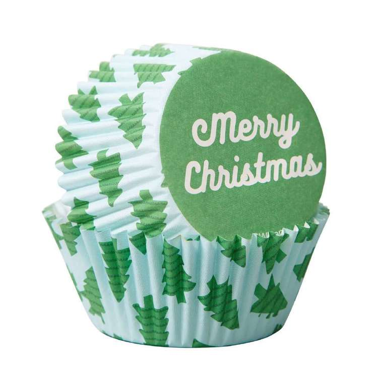 Wilton Merry Christmas Baking Cups Multicoloured