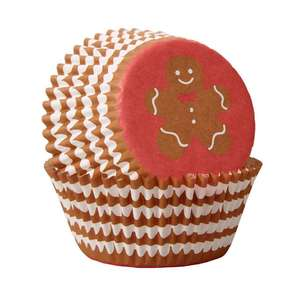 Wilton Gingerbread Boy Baking Cups