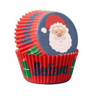 Wilton Santa Claus Baking Cups
