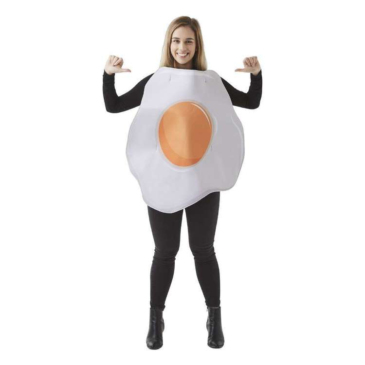 Spartys Egg Costume White