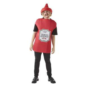 Spartys Sauce Bottle Costume