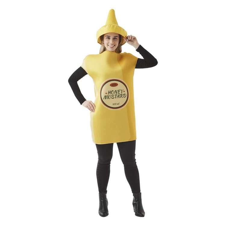 Spartys Mustard Bottle Costume