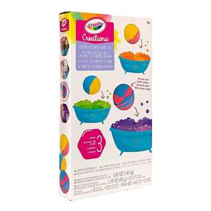 Crayola Creations Bath Bomb Kit