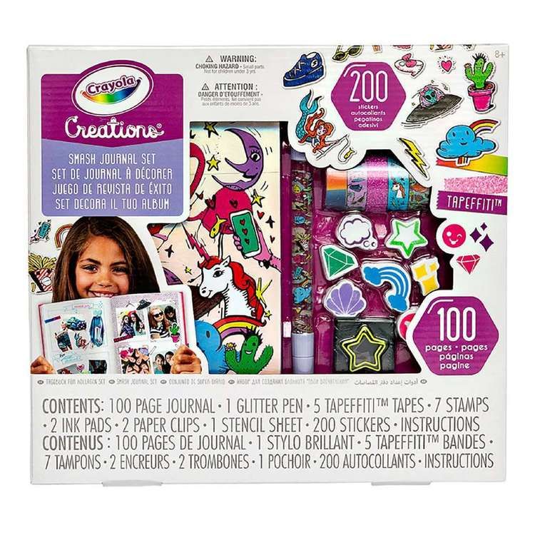 Crayola Creations Journal Kit